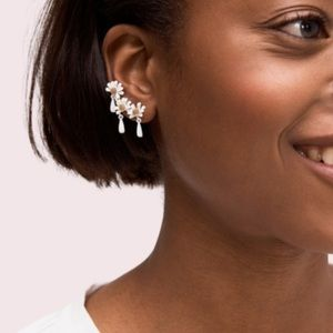 ♠️ Kate Spade Into The Bloom Ear Crawlers